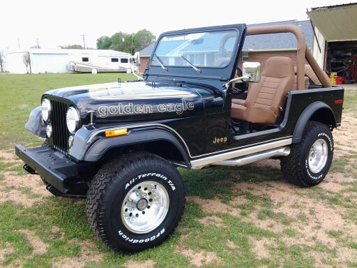 Gallery For > 1980 Jeep Cj7 Golden Eagle