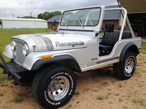 1981 CJ-5 Calif Custom; 6-cyl,T176 4spd,Tilt.pwr; Incredible 2 owner Jeep